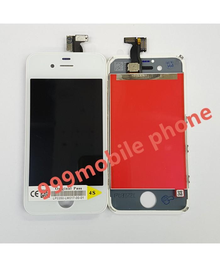 หน้าจอ ไอโฟน iPhone 4S +ทัชสกรีน (AAA) ขาว