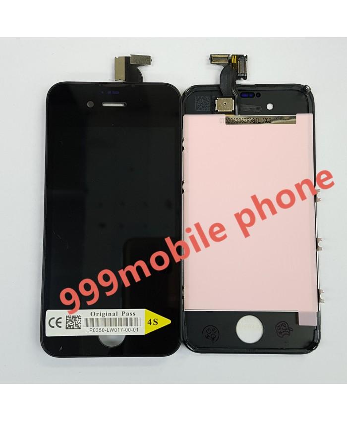 หน้าจอ ไอโฟน iPhone 4S +ทัชสกรีน (AAA) ดำ