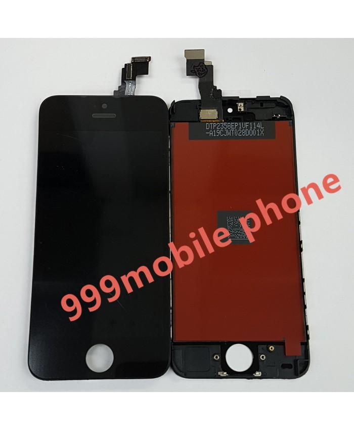 หน้าจอ ไอโฟน iPhone 5C +ทัชสกรีน (AAA)  ดำ
