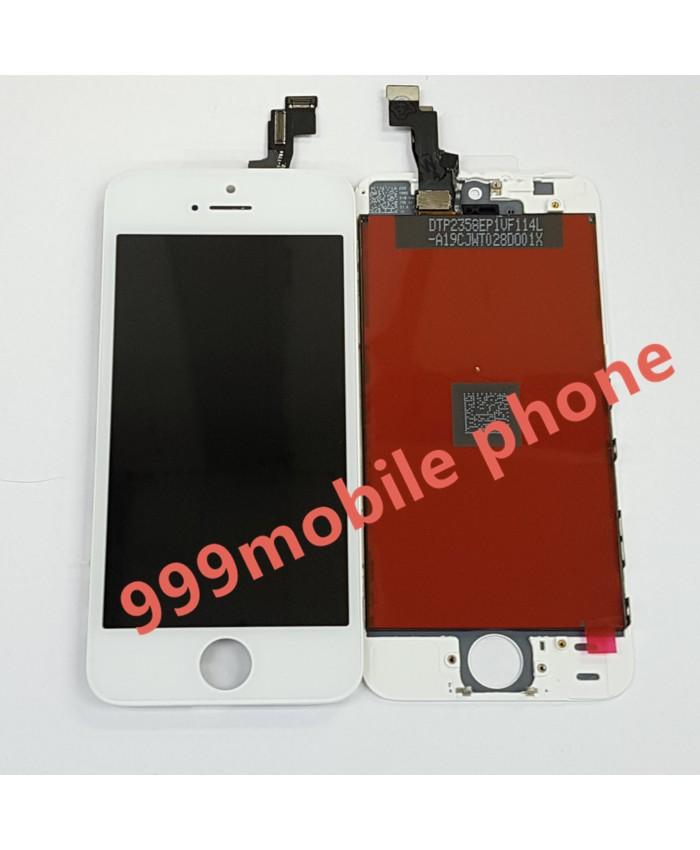 หน้าจอ ไอโฟน iPhone 5S +ทัชสกรีน  (AAA) ขาว