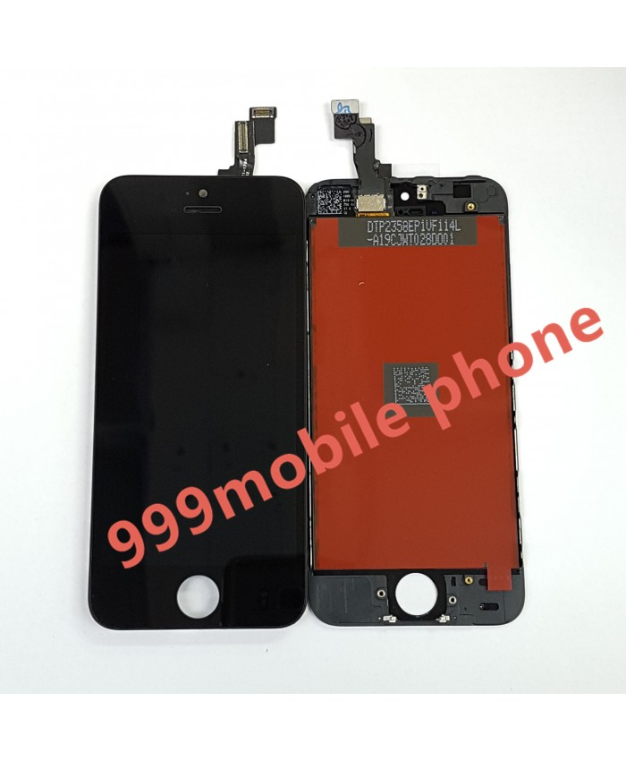 หน้าจอ ไอโฟน iPhone5S +ทัชสกรีน  (AAA) ดำ